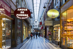 The passage Jouffroy, Paris, France. Stock Images