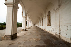 Passage in Kromeriz Garden Royalty Free Stock Images