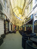 Passage macca-Villacrosse - Boekarest royalty-vrije stock foto