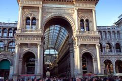 Passage in Milan Royalty Free Stock Photo