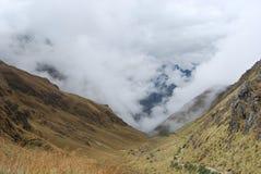 Passage mort de la femme s, journal d'Inca Images stock