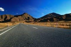Passage Nouvelle Zélande de Lindis Image libre de droits