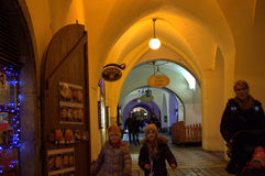 Passage in Old Town Prague Royalty Free Stock Image