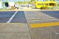Passage pour piétons d'aéroport de kahului de Maui Photographie stock libre de droits