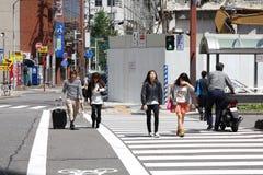 Passage pour piétons de Nagoya Images libres de droits