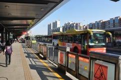 Passage rapide de bus Image libre de droits