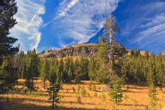 Passage Rimrocks de Carson Images stock