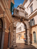Passage Rovinj, Kroatien Royaltyfri Bild