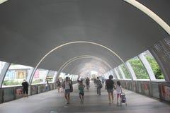 Passage sauté moderne de ŒThe de ¼ de Œshenzhenï de ¼ de Œchinaï de ¼ d'Asiaï Photographie stock libre de droits