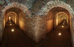 Passage secret souterrain Image stock