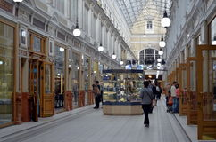The Passage shopping mall interior Stock Photo