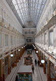 The Passage shopping mall interior. Saint-Petersburg, Russia Royalty Free Stock Images