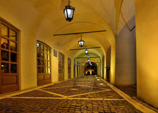 Passage in Sibiu Stock Photos