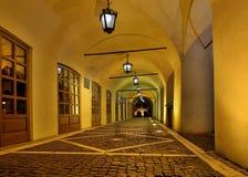 Passage in Sibiu Stock Photos