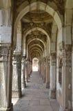 Passage / side way of Jami Masjid (mosque), chapaner, Gujarat Stock Photos