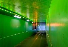 Passage souterrain de Londres photos stock