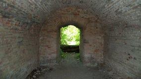 Passage souterrain de tunnel photo stock