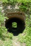 Passage souterrain de tunnel photographie stock libre de droits