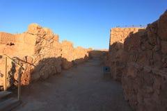 Passage in Storerooms Complex Masada Stock Photos