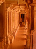 Passage in a temple Royalty Free Stock Images