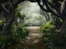 Passage till den mystiska slotten
