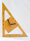Passage of time. A clock with four positions of the second hand showing [ between 10 am and 12 noon ]. An abstract image showing passage of time vector illustration