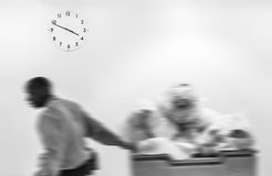 Passage of time concept Stock Photography