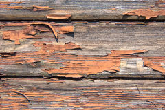 The passage of time. Image of old damaged boards Royalty Free Stock Images