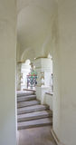 The passage to the cells of the Shipka Monastery Royalty Free Stock Photo