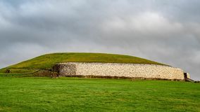 Passage Tomb at Newgrange in Ireland royalty free stock image