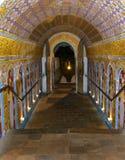 Passage uit Tempel van de Tand Stock Foto