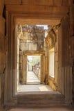 Passage-way of Ba Phuon Temple, Angkor Thom, Siem Reap, Cambodia. Stock Photos