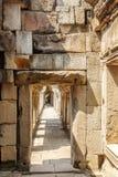 Passage-way of Ba Phuon Temple, Angkor Thom, Siem Reap, Cambodia. Stock Photography