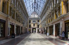 Passagehotel, Odessa Ukraine royalty-vrije stock afbeelding