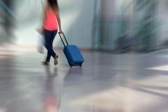 Passageiro da linha aérea Fotografia de Stock