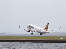 Passageiro grande Airbus A320-232 Fotos de Stock