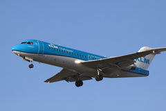 Passageiro Jet Airplane Foto de Stock Royalty Free