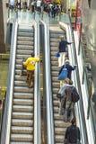 Passageiro no terminal 4 em mover-se Imagem de Stock Royalty Free