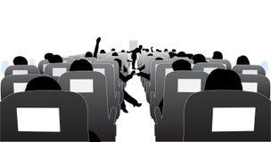 Passageiros ilustração stock