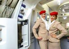 Passageiros da reunião dos membros do grupo dos emirados Imagens de Stock Royalty Free