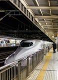 Passageiros do trem Fotos de Stock