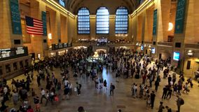 Passageiros que movem-se no lapso de tempo de Grand Central filme