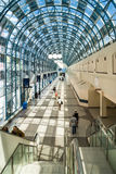 Passagem acima da estação de trem da estação da união, Toronto Fotos de Stock Royalty Free