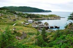 Passagem aleatória Terra Nova Canadá Fotografia de Stock
