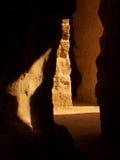 Passagem antiga, corredor da rocha Fotografia de Stock
