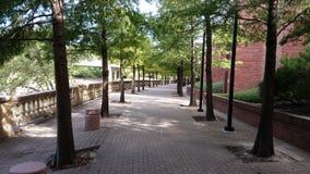 Passagem ao lado de Wortham Center Fotografia de Stock Royalty Free