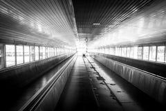 Passagem BW do trem Imagens de Stock