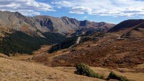Passagem Colorado de Loveland imagens de stock