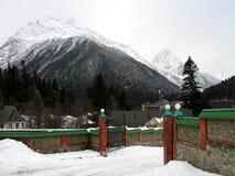 Passagem da montanha foto de stock