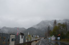 Passagem da montanha Fotos de Stock